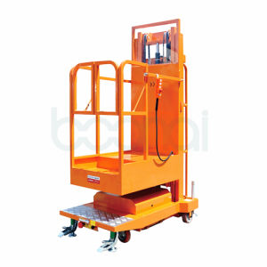 3.5m Lifting Equipment Mobile Aerial Order Picker (Triple Masts) pictures & photos