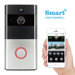 HD Front Door Monitor Camera Wireless WiFi Support Phone APP pictures & photos