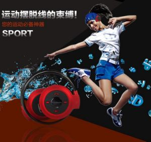 Neckband Foldable Bluetooth Headphone Wireless Bluetooth Headset Mini 503 pictures & photos
