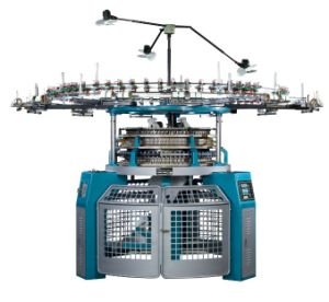 Single Jersey Jacquard Machine (embroidery machine) (industrial sewing machine) pictures & photos