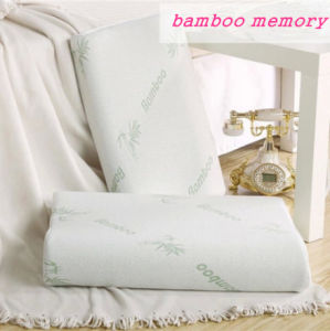 Bamboo Memory Neck Pillow pictures & photos