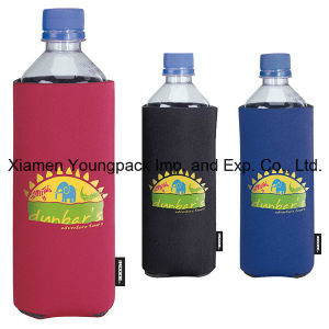 Custom Imprinted Basic Collapsible Neoprene Bottle Cooler pictures & photos