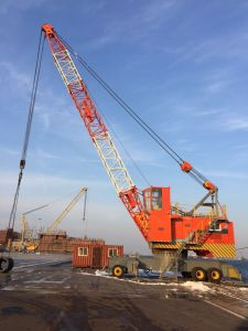 Mobile Harbour Port Crane for Sale pictures & photos