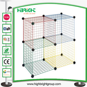 Stacking Wire Cube Set Closet Organizer Bins pictures & photos