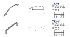 Zinc Alloy Furniture Handle/ Furniture Hadware/ Furniture Accessories/ Cabinet Handle pictures & photos