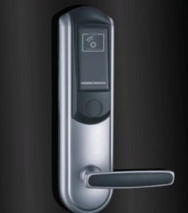 Mortise Hotel RF Card Reading Door Lock with Handle pictures & photos