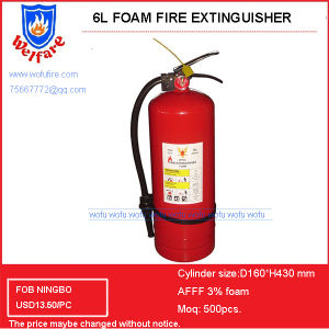 6LTR Portable Foam Fire Extinguisher pictures & photos