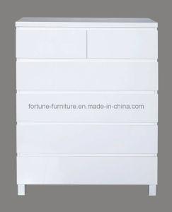 Modern Wooden UV High Gloss Drawer Chests/6 (10295-3)