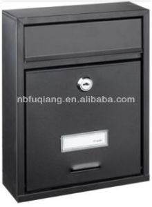 Small Size Wall Mounted Mailbox with Metal pictures & photos