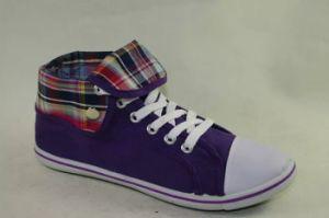 Ladies Women Footwear Comfort Canvas Shoes (NU046)