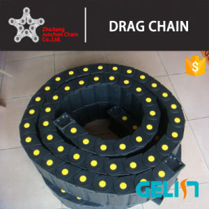 Tp 7/10/15/18 mm Height Nylon Semi Openable Cable Conveyor Chain pictures & photos