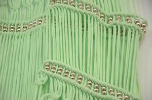 Women Special Design Metallic Bead Green Beachwear pictures & photos