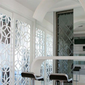 Hollow Partition Series Perforated Aluminum Panels for Office Decoration pictures & photos
