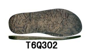 New Design Men′s TPR Outsole Beach Sandal Sole (T6Q302) pictures & photos