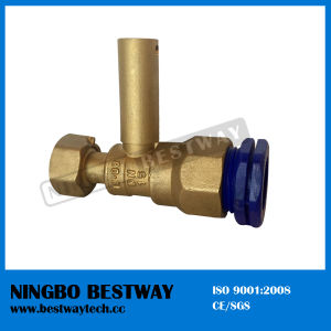 Hot Sale Brass Water Meter Ball Valve Price (BW-L33) pictures & photos