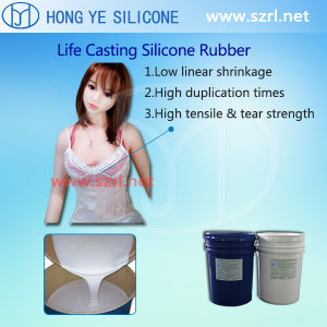 Liquid Dragon Skin Silicon Rubber for Real Doll pictures & photos