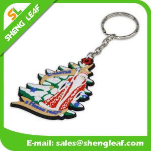 Custom 3D Cheap Soft PVC Rubber Keychain (SLF-KC076) pictures & photos