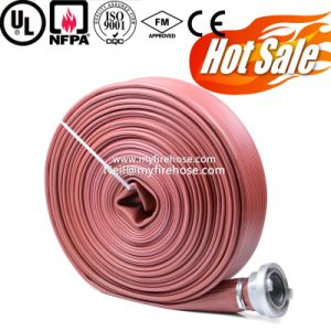 Nitrile Rubber Wear Resistance of Farm Irrigation Durable Layflat Hose pictures & photos