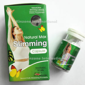 Natural Max Slimming Green Box Weight Loss Capsules pictures & photos
