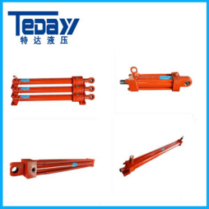 Serial 25MPa Double Acting Hydraulic Welded Cylinder pictures & photos