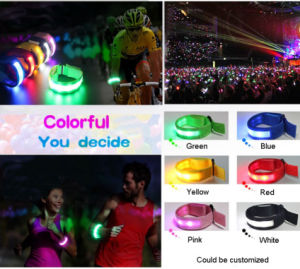 Party Event LED Flashing Bracelets Glow Stick Wristband pictures & photos