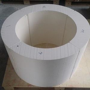 High Temperature Calcium Silicate Pipe Cover 1000c & 1100c pictures & photos