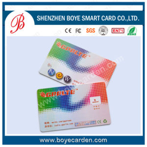 ISO14443 13.56MHz 1k/2k/4k Contactless Smart Cards for Railway System pictures & photos
