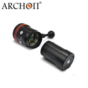 CREE LED 5, 200 Lumens Diving UV LED Flashlights with Push Button Switch pictures & photos
