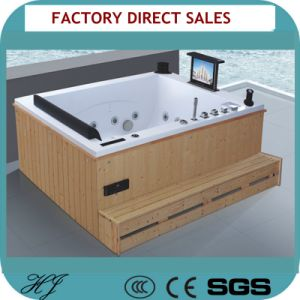 Wooden Frame Outdoor SPA and Jacuzzi Bathub (714A) pictures & photos