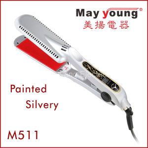 Novel Design Titanium Plates LED Professional Hair Straightener pictures & photos