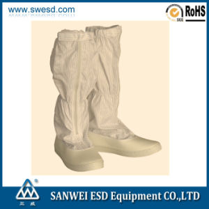 ESD Antistatic Cleanroom Boot (3W-9109) pictures & photos