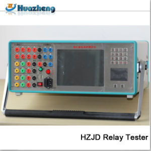 Three Phase Relay Test Set Secondary Current Injection Relay Tester pictures & photos