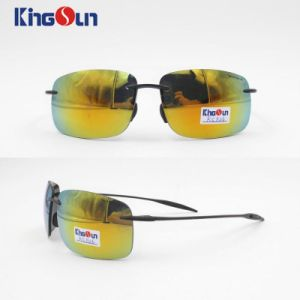 Rimless Sunglasses with Mirror Lens Ks1126 pictures & photos