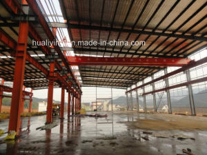 Wide Span Light Steel Structure Buildings for Workshop pictures & photos