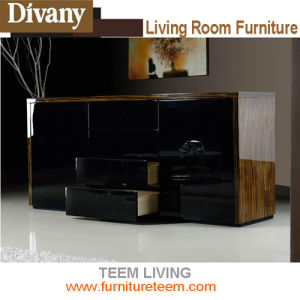 Modern Home Furniture, Living Room Wood Storage Cabinet pictures & photos