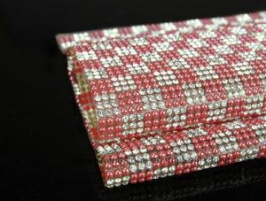 Hotfix Adhesive Crystal Rhinestone Sheet, Glass Rhinestone Mesh (TP001 ss8) pictures & photos