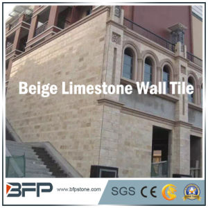 Natural Beige Limestone Wall Tile for Exterior pictures & photos