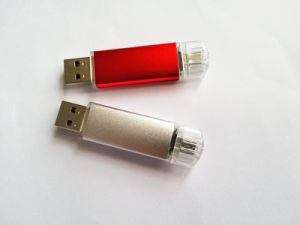 Plastic Swivel Mobile USB Flash Drive USB Pen Drive pictures & photos