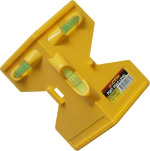 Mini Box Level Spirit Level ABS Plastic Level for Post Hole pictures & photos