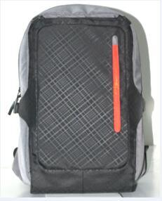 Outdoor Solar Laptop Backpack with Solar Panel