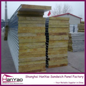 Thicken Quality Fireproof Steel Rockwool Sandwich Panel pictures & photos