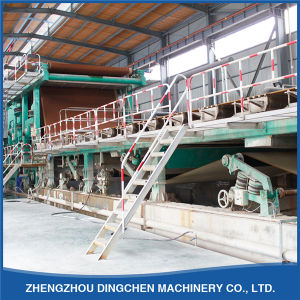 DC-3600mm High Quality New Arrival Single Facefourdrinier Kraft Paper Making Machine pictures & photos