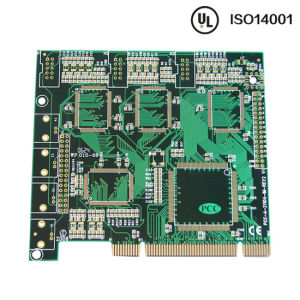 1.0mm Multilayer Green Soldermask Ink PCB From Zapon pictures & photos