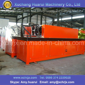 High Speed Wire Rod Straightening and Cutting Machine pictures & photos