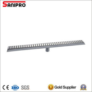 Tile Inlay Stainless Steel Floor Outlet Drainer pictures & photos