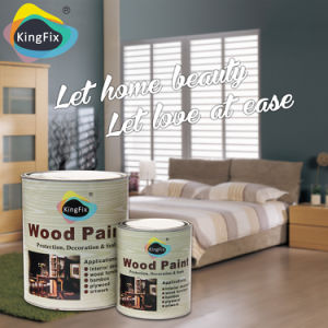 Factory Manufacture Yellow Resistant Nc Furniture Paint pictures & photos