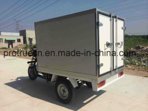 Three Wheel motorcycle with Box for Fresh Transportation pictures & photos
