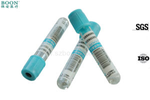 Red Orange Black Green Gray Blue Cap Coagulant Blood Collection Tube & Needle pictures & photos