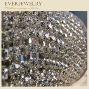 4mm Decorative Crystal Rhinestone Cup Chain Roll pictures & photos