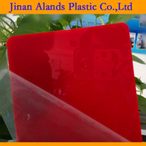Cost Effective Color Acrylic Sheet with Paper Masking pictures & photos